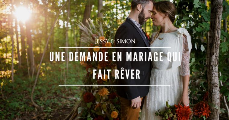 Une demande en mariage qui fait rêver !