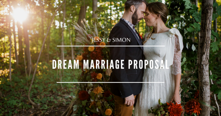 A dream marriage proposal !