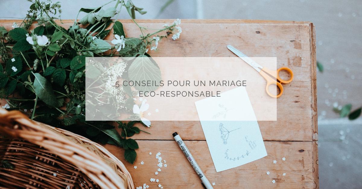 5 trucs et astuces pour un mariage écoresponsable
