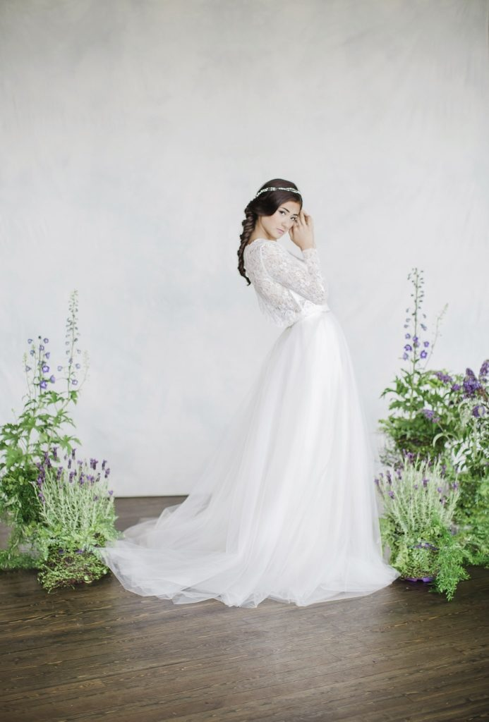 eco-friendly wedding dress from Dream it Yourself Montreal