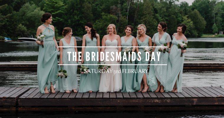 The bridesmaids day, a saturday to spend with your brides squad!