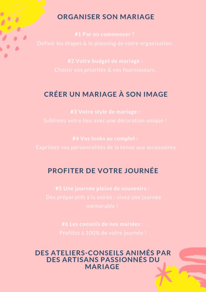 Programme on jase mariage