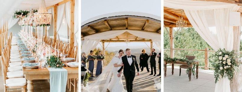 Le Belvedere - Lieux pour un mariage nature au quebec - Mariage au bord d'une falaise