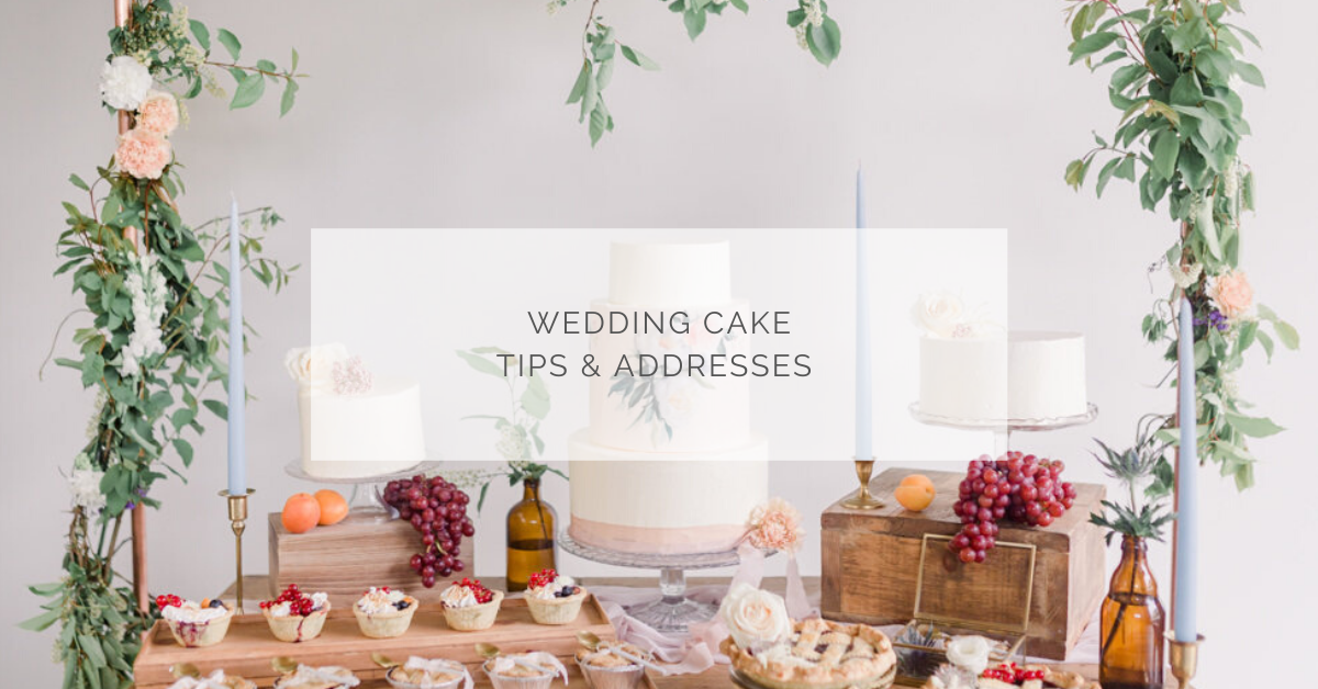 Wedding cake tips & addresses