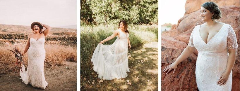 Quelle robe de mariée pour une femme ronde ? 1
