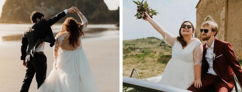 Quelle robe de mariée pour une femme ronde ? 6
