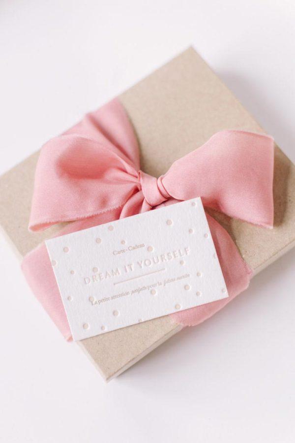 Carte Cadeau future mariée