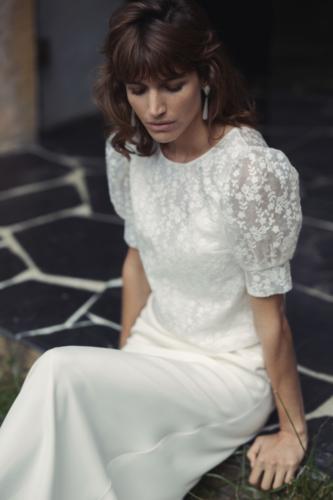 Top Manuka et robe Lorca - Laure de Sagazan