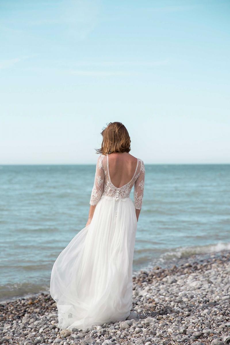 Boho wedding dress in Montreal