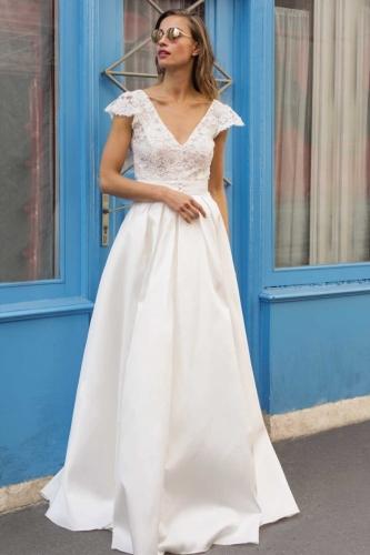 94d21df27ad8c Robes de mariée bohème à Montréal