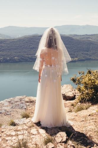 Robe bohème chic Mariage