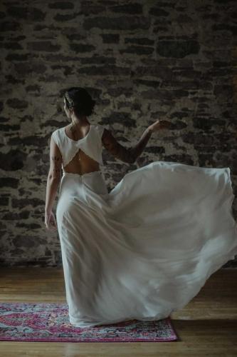 Robe - Salome-Gautard --- Bijoux - Eugenie-Bee