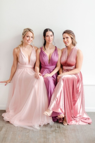 Junophoto DIY bridesmaid infinity dress