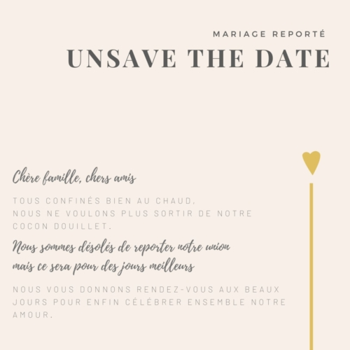 1-Unsave the date