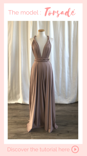 Nouage torsadé - Infinity dress