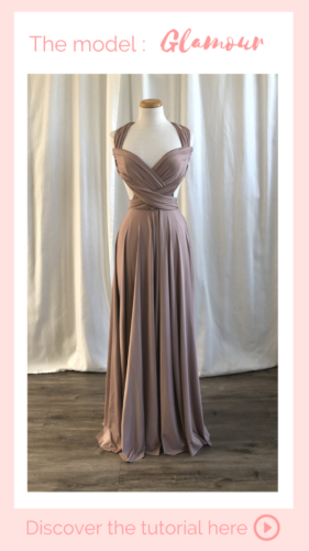 Nouage Glamour - infinity dress