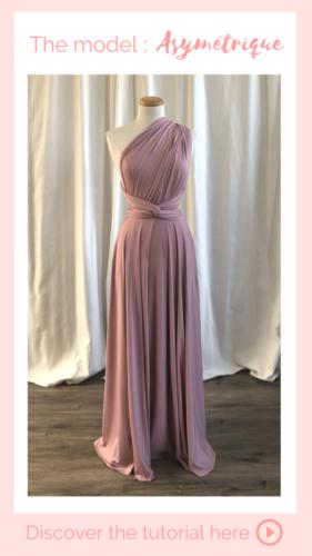 Nouage asymétrique - Infinity Dress
