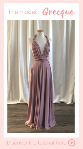 Nouage grecque - Infinity Dress