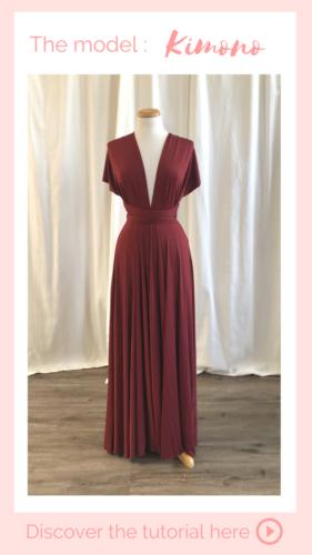 Nouage Kimono - Infinity dress