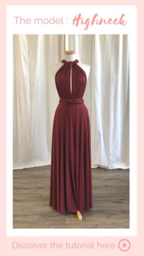 Nouage Highneck - Infinity dress