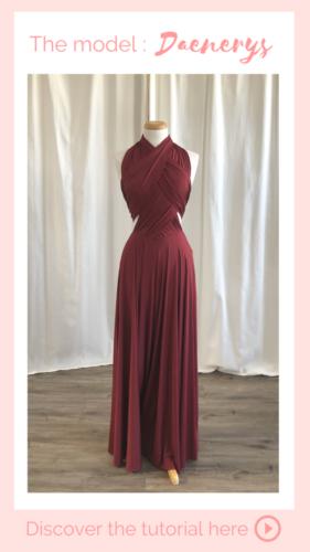 Nouage Daenerys- infinity dress
