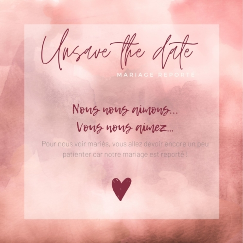 7-Unsave the date